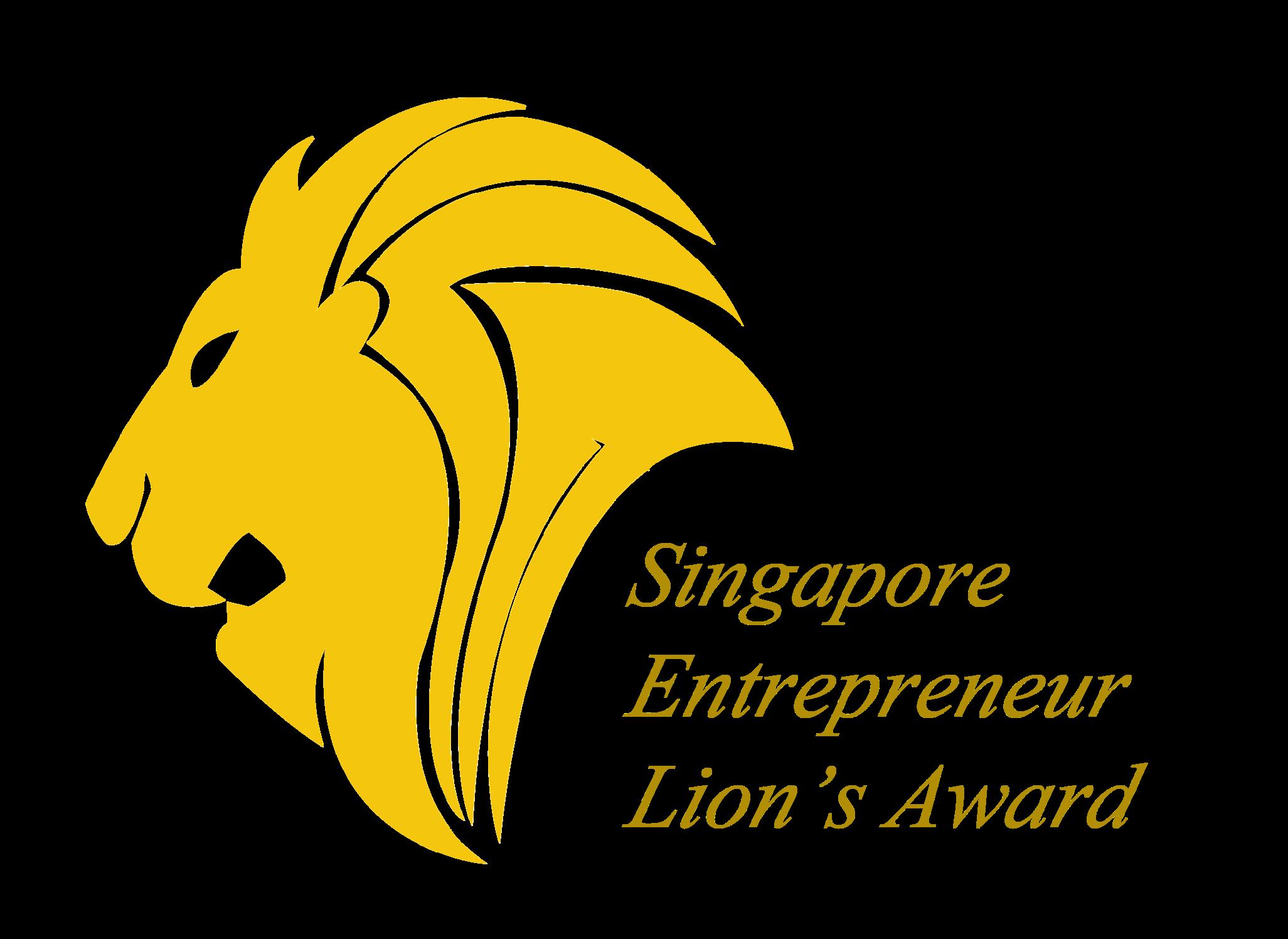 singapore entrepreneur lion's award logo.png