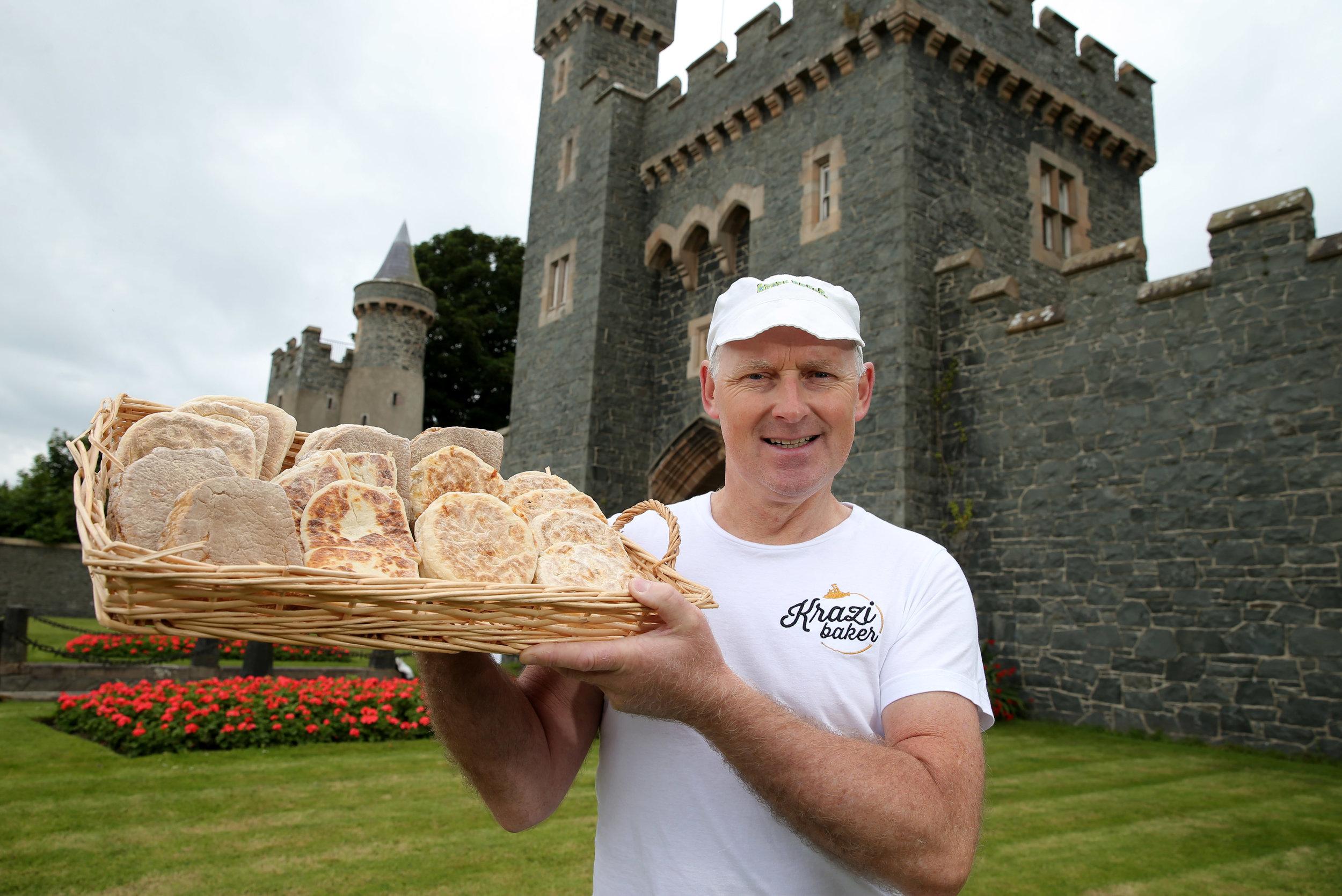 Mark Douglas of The Krazi Baker