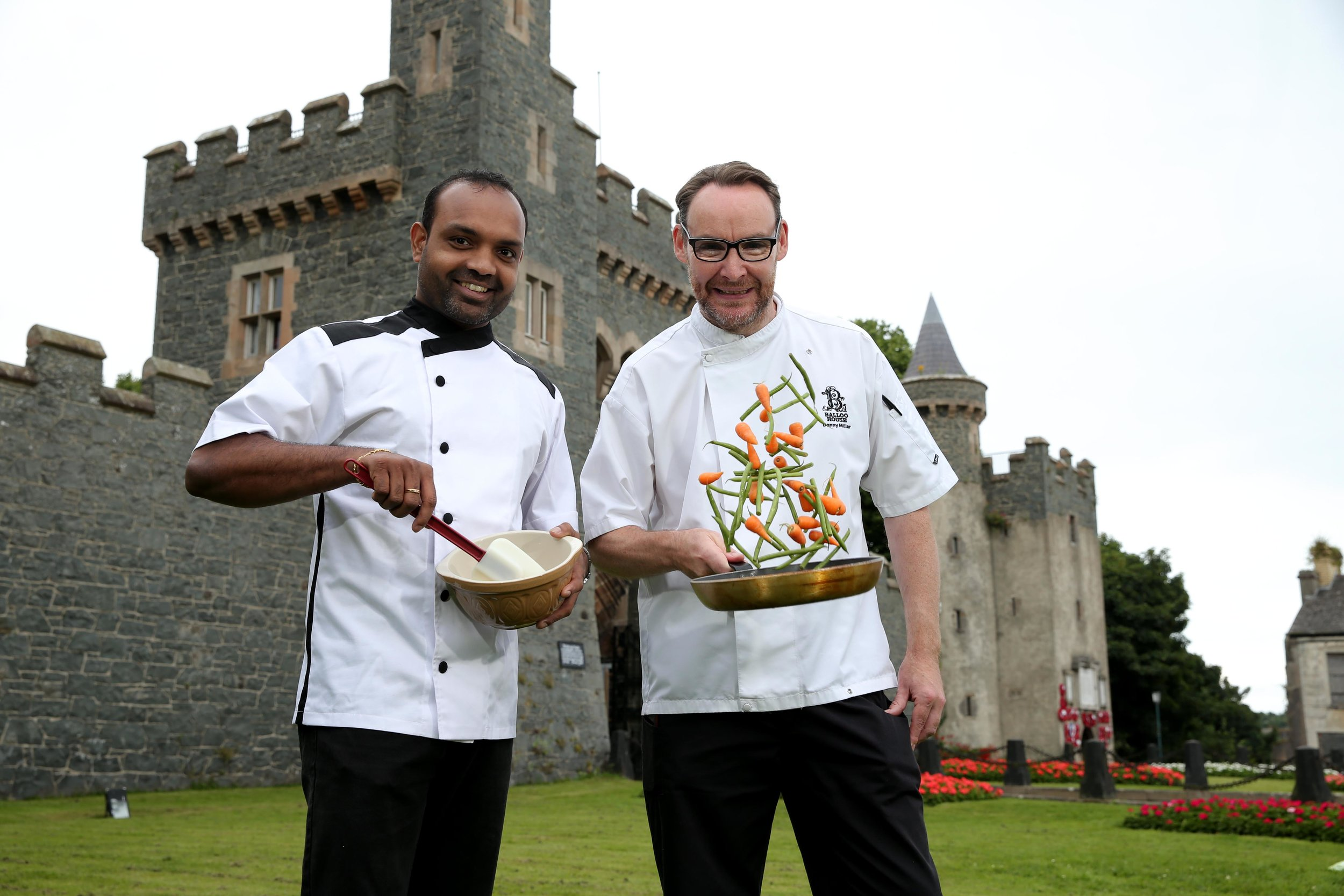 Chef Roy Abraham, The Smuggler's Table & Chef Danny Millar, The Poacher's Pocket
