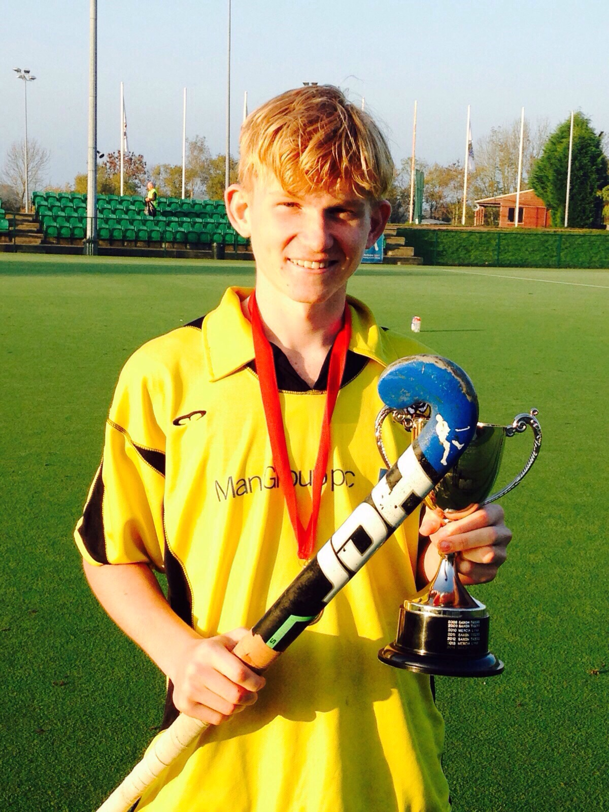 Noah Darlington wins the Futures Cup with England U18 Saxon Tigers