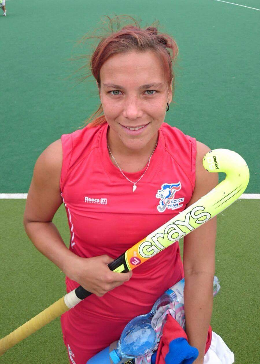 Bara with her EVO branded stick