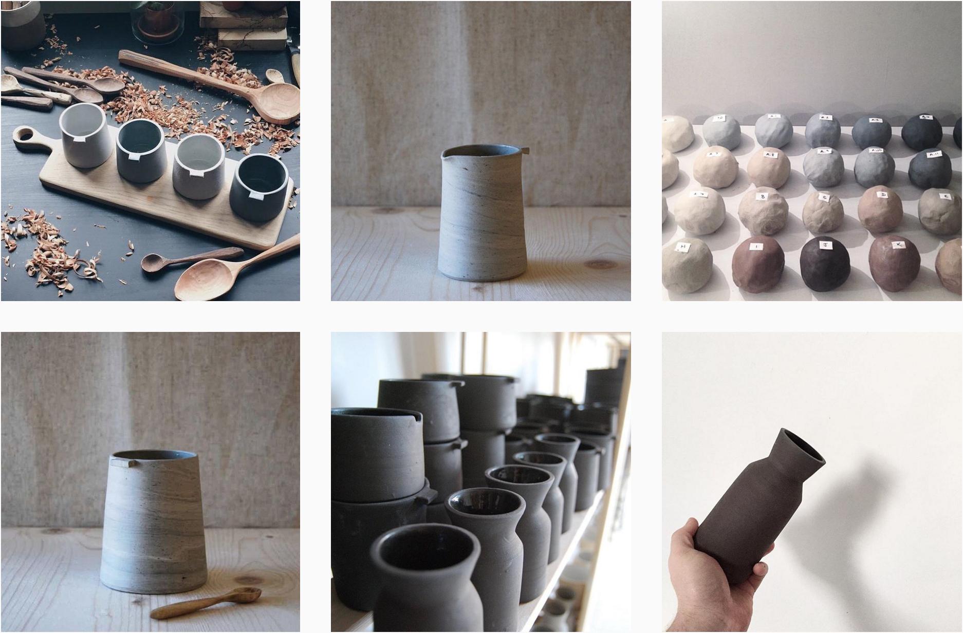 Keramiken von Jono Smart