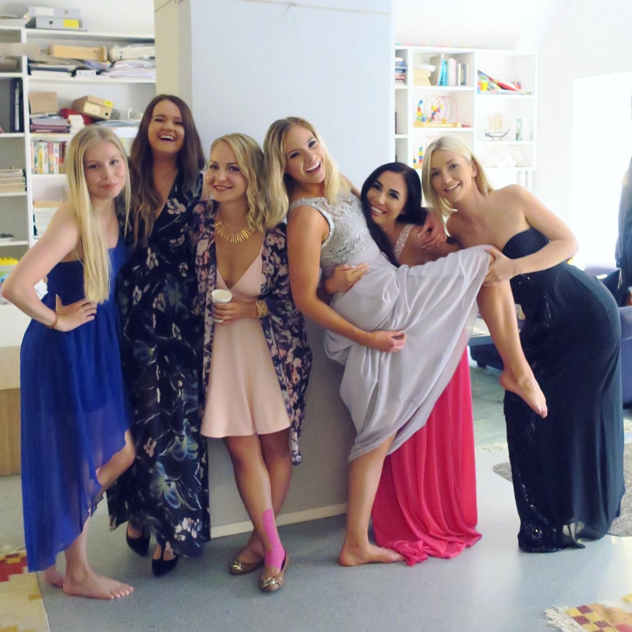 Niin kauniita ja ihania tyttöjä!