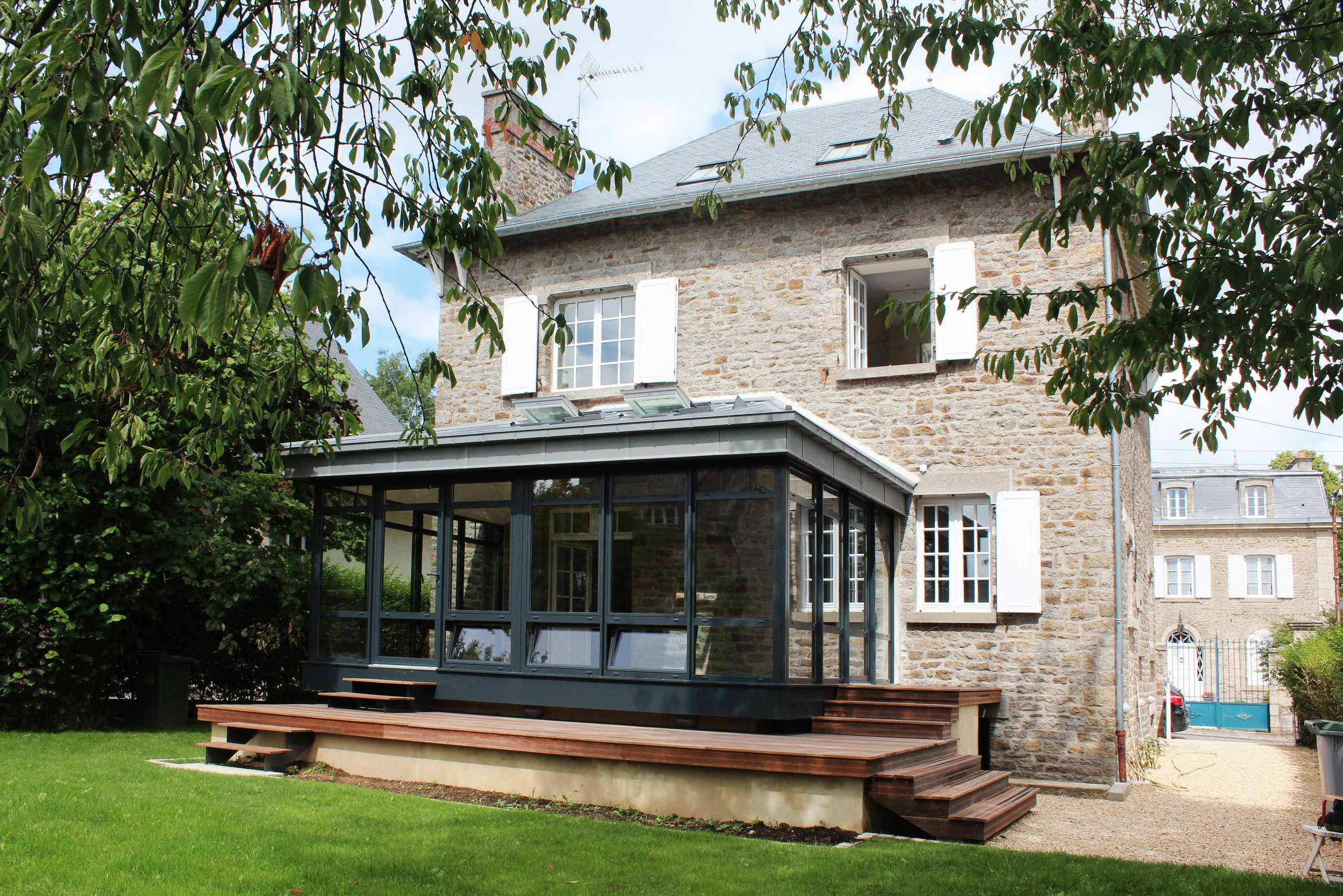 DINAN - Une maison de charme rue Beaumanoir - SURFACE : 180 m2 - Maître d'ouvrage : Particulier
