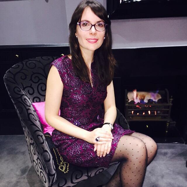Elena Shchukina at Theo Fennell dinner