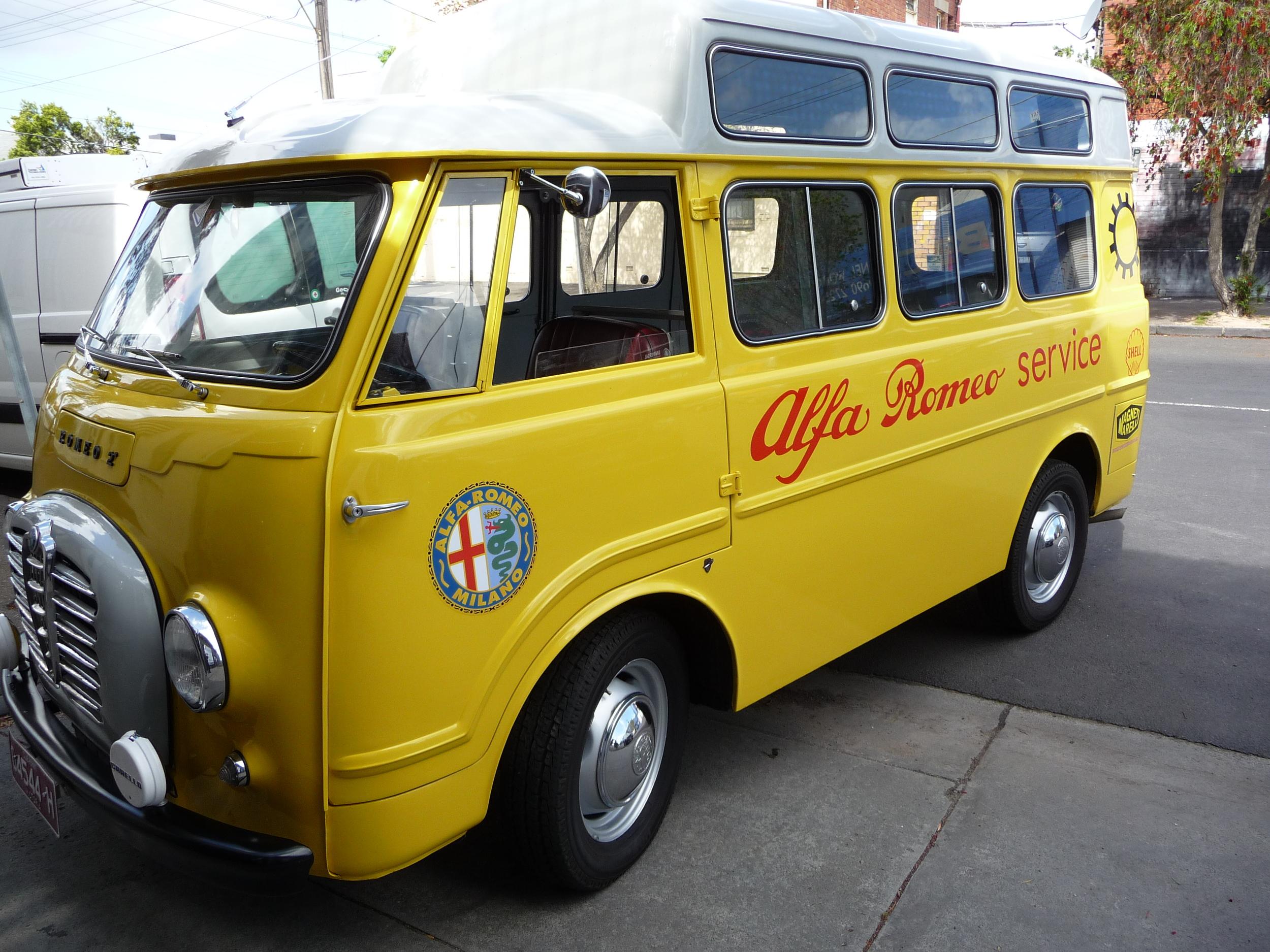 Romeo2 Van restored by Zoo