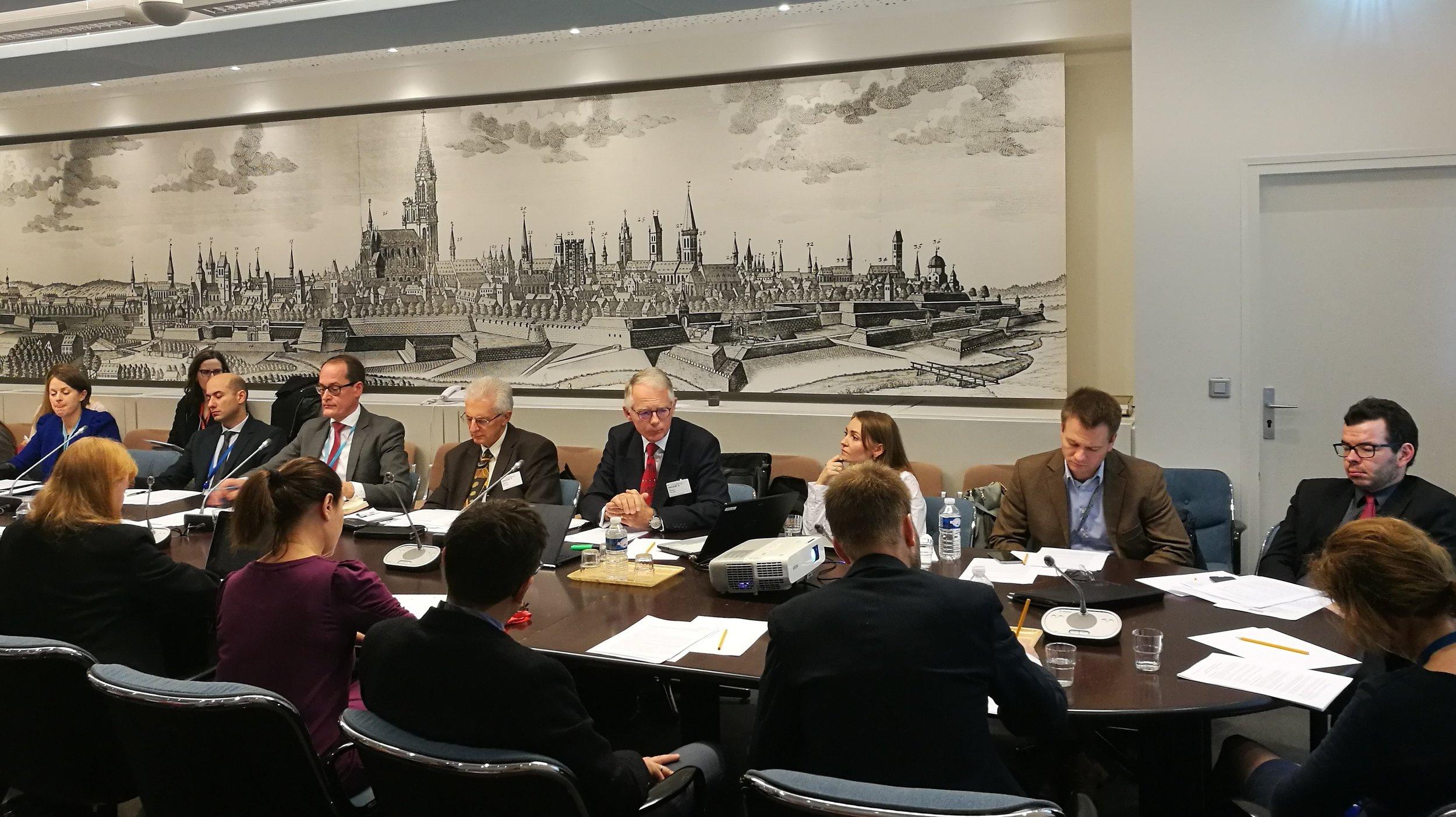 EIN briefing on 24 November 2017