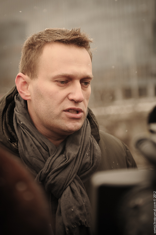 Alexey Navalny. Photo copyright of Evgenly Isaev, Creative Commons Licence,  Flickr