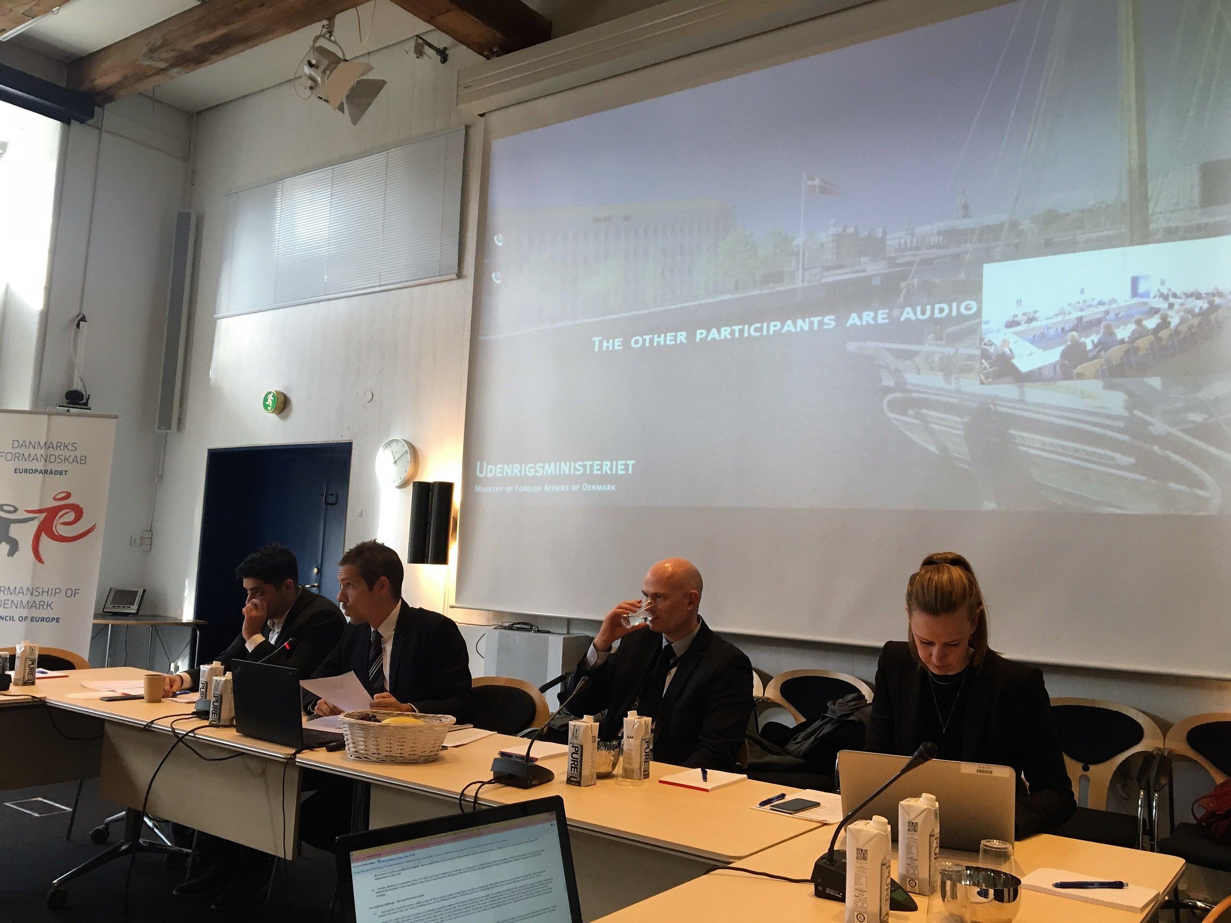 The Danish Chairmanship team. Photo: EIN
