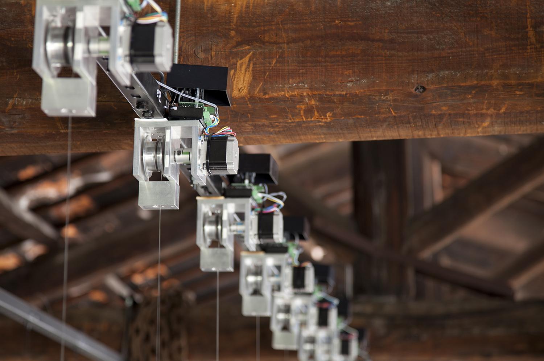 In 20 Steps, Glasstress 2015 Gotika, Palazzo Franchetti / Istituto Veneto di Scienze, Lettere e Arti, Venice  - Photography by Juuke Schoorl