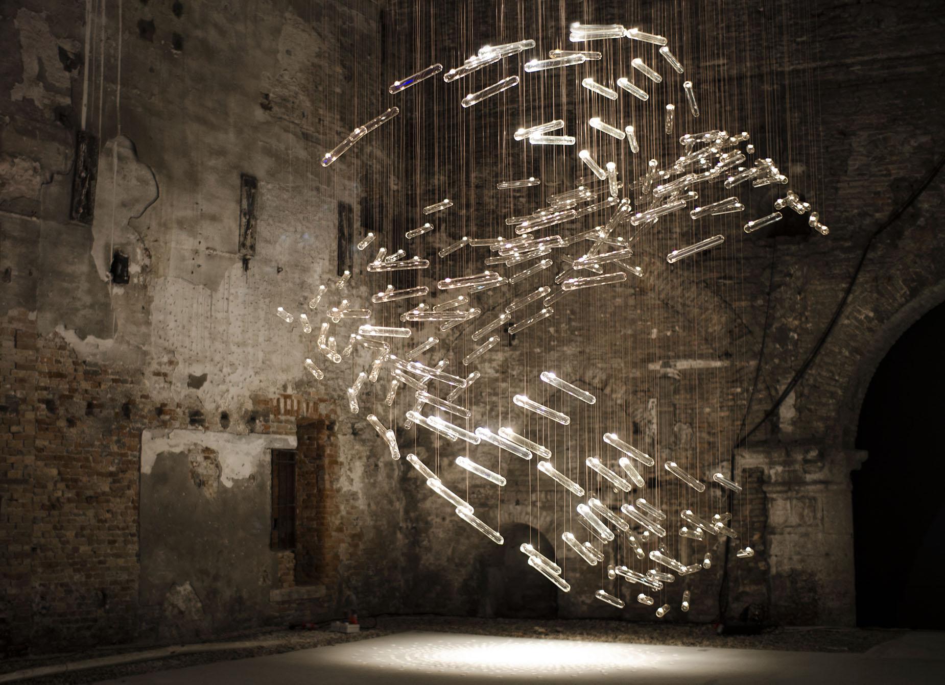 Flylight, Glasstress 2015 Gotika, Venice Biennale | Photo by Juuke Schoorl