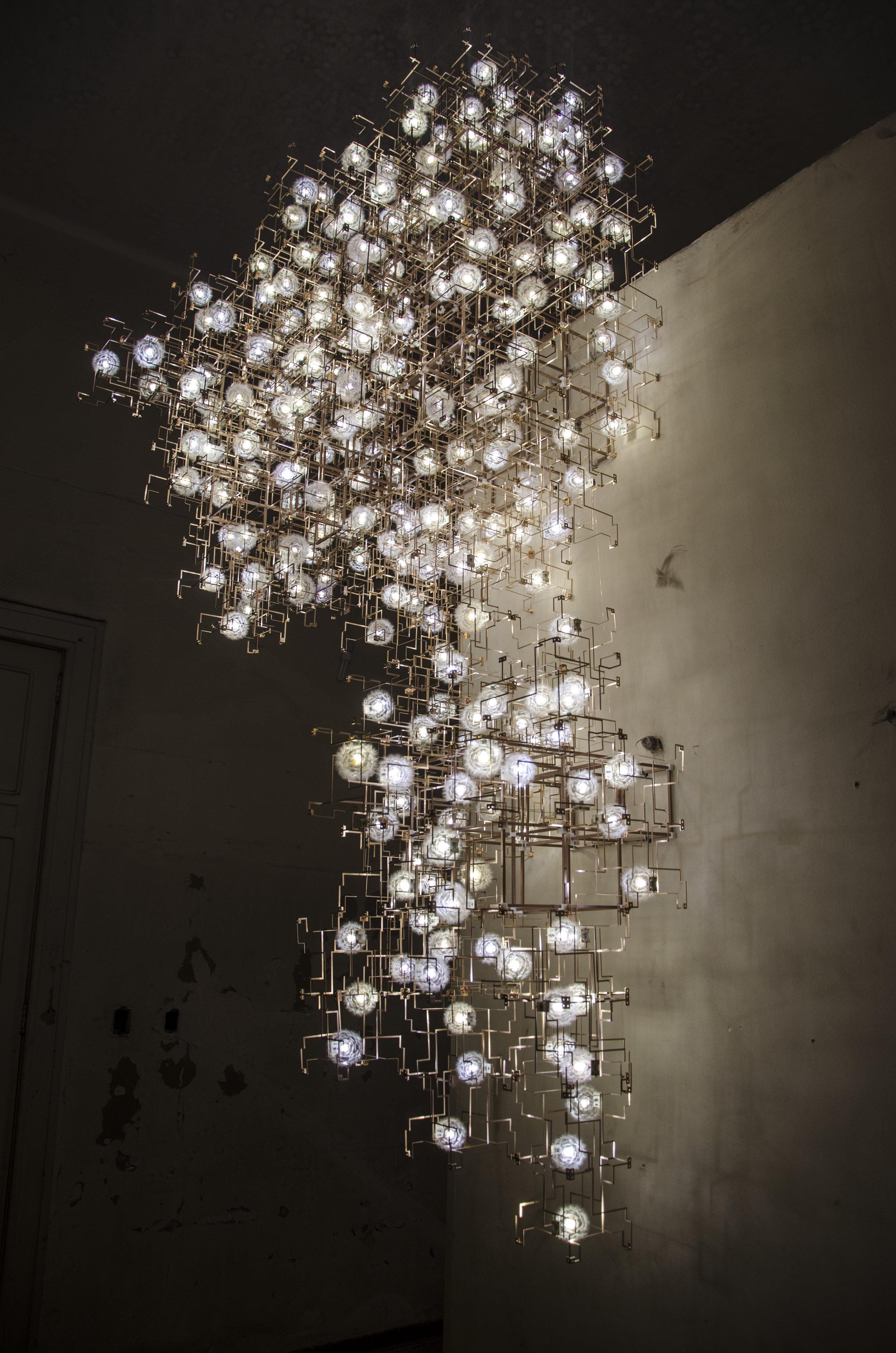 Studio Drift Fragile Future at Cidade Matarazzo 2014