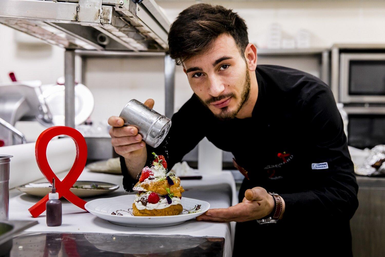 Dessert spécial également au Meriggio, à Paris. © Vincent Isoré