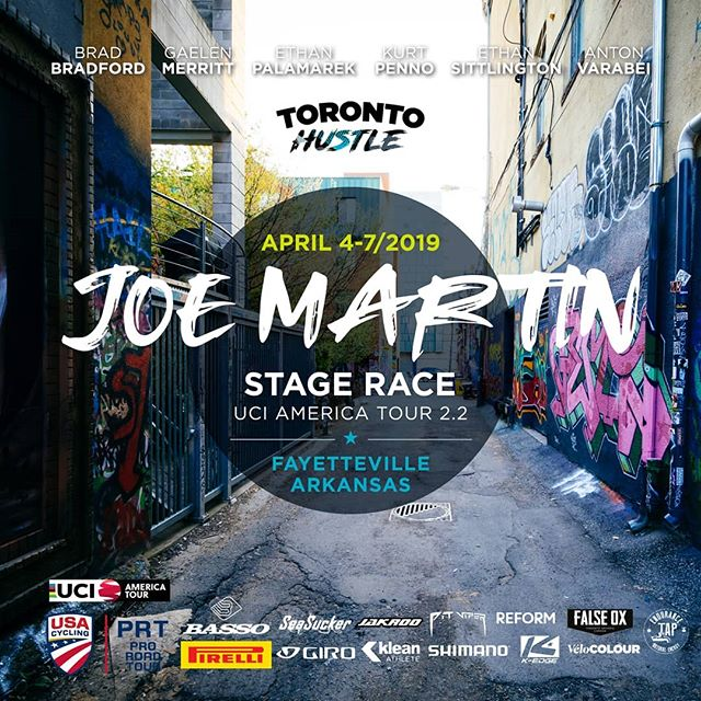 We're in beautiful Arkansas for our season opener - @joemartinstagerace! 4 days of #UCI racing starts now!  Proud to present our line up and excited to also welcome U23 hitter, @bailiguidi of @tag.cycling.race.team as our guest rider!  We take to the start this afternoon for Stage 1 - 182.3km road race finishing at the top of Mt. Sequoyah.  #jmsr