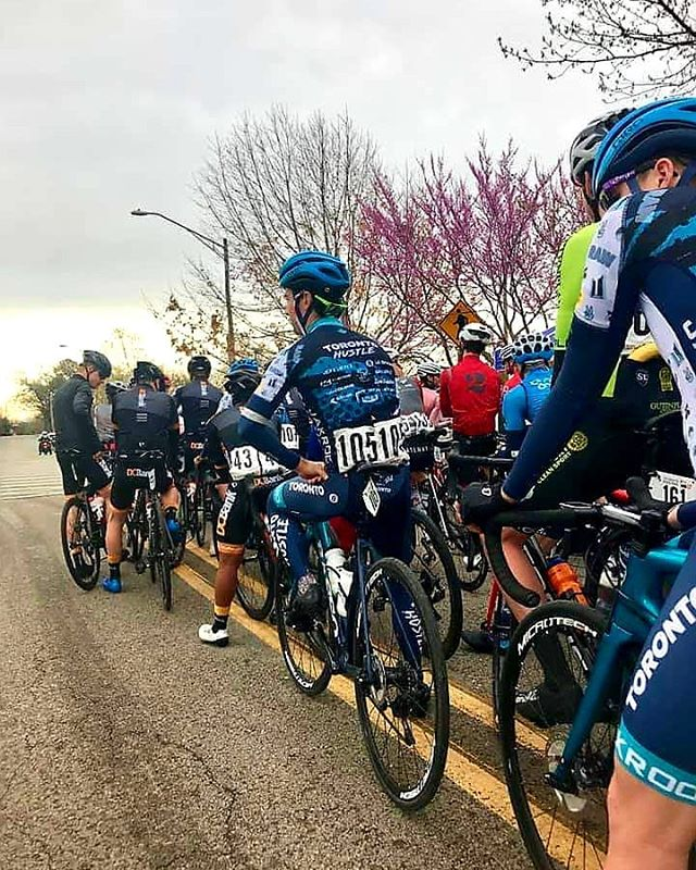 We rested and recovered hard last night. Feeling good for today!  Stage 2 - 176.7km and 6213ft of climbing ending with a flat, fast and spicy sprint finish into the heart of #Fayetteville!  Racing gets underway at 12:30pm EST. We ready.  #jmsr19