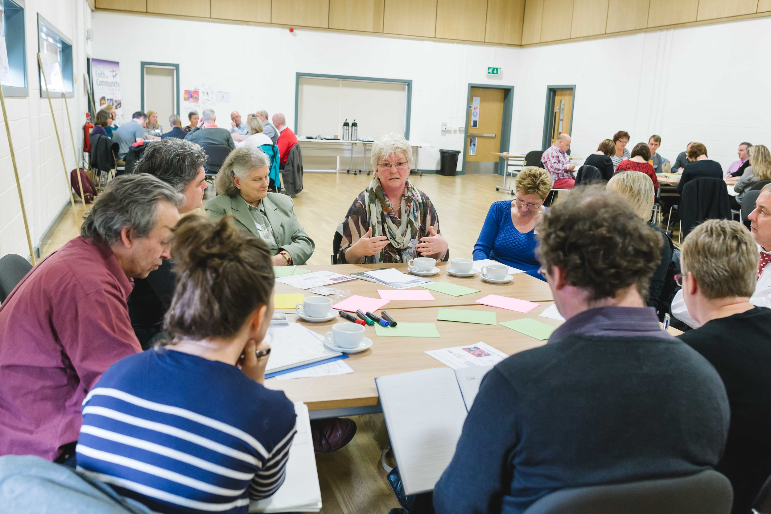 Image from PB learning event, Townhead Village Hall, Glasgow, October 2014