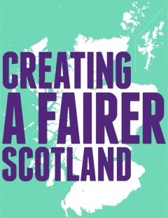 Creating a Fairer Scotland logo