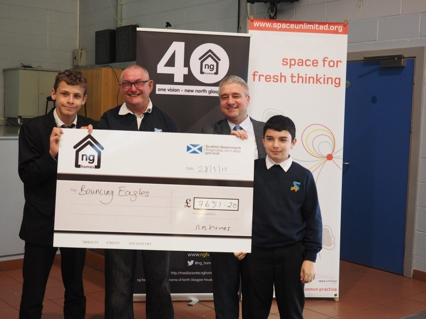 Bouncing Eagles get their hands on some funding