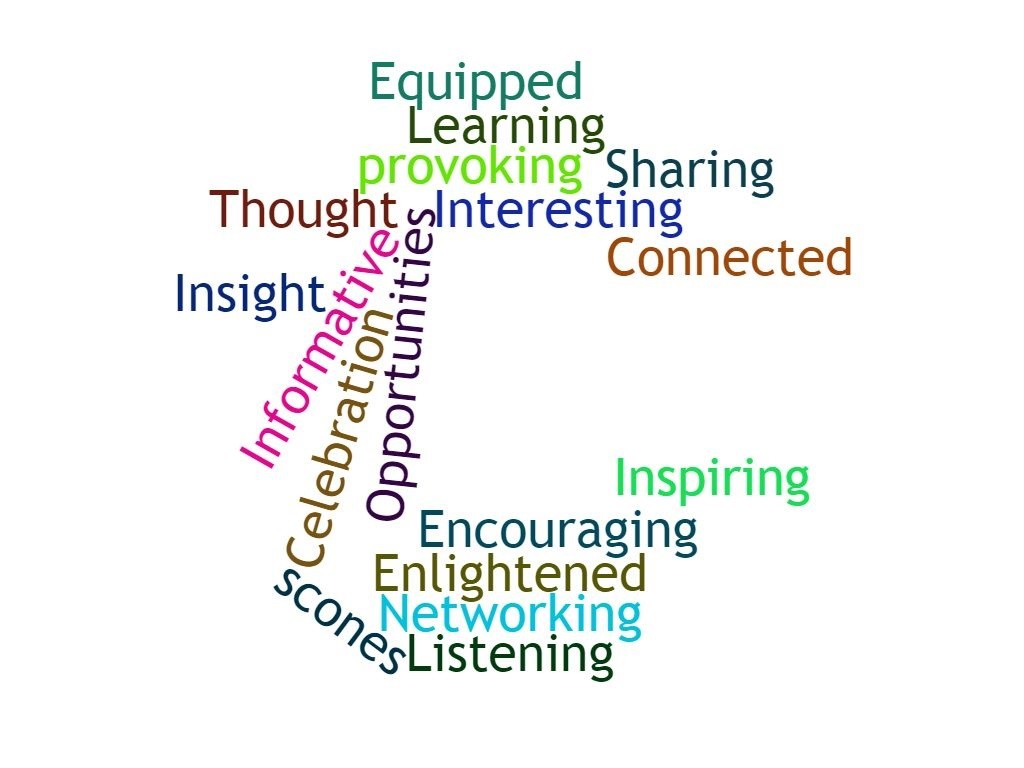 Word cloud from #You Choose 2 Launch, The Gallery, Elgin Library, September 2017