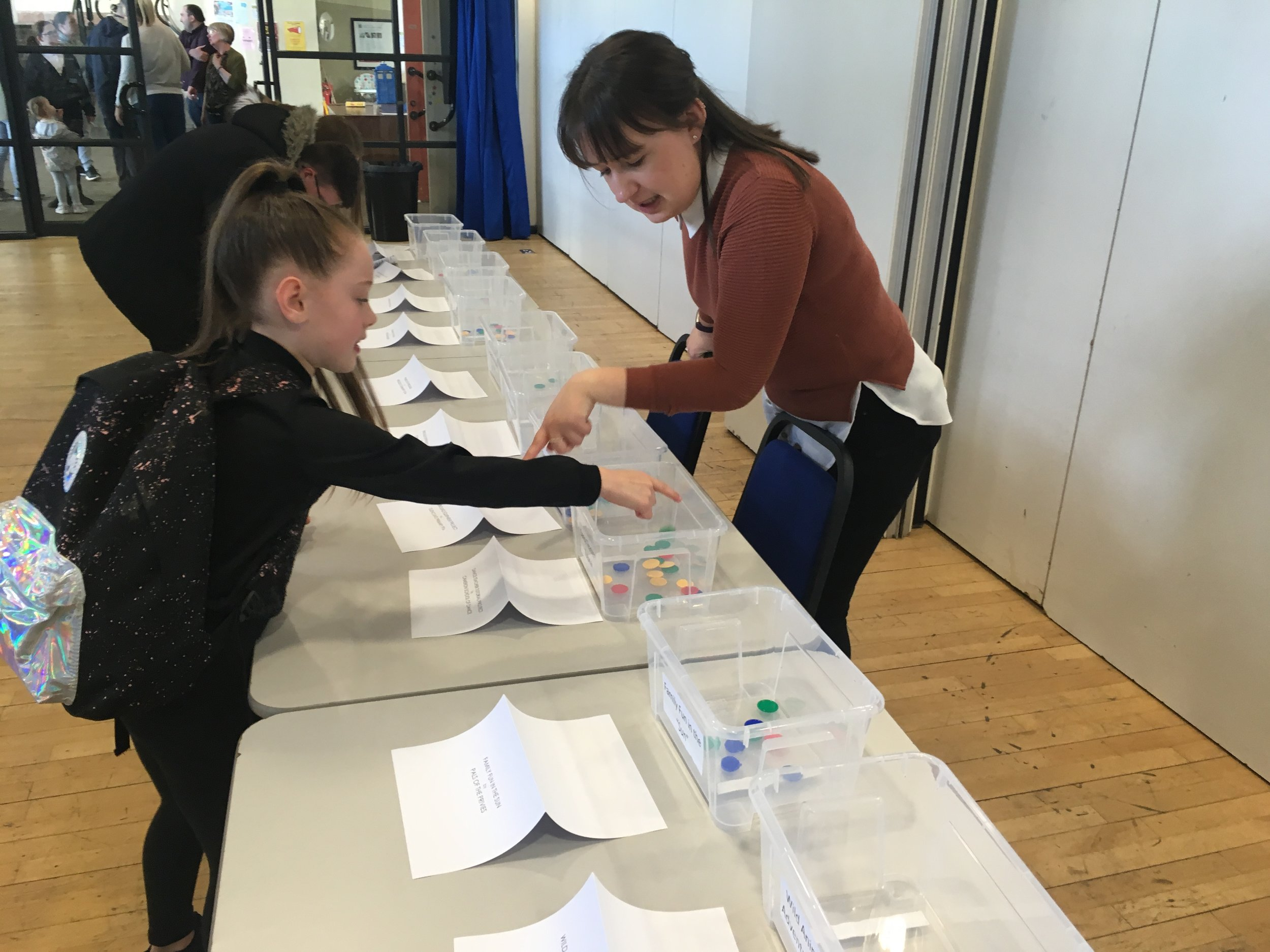 Voting in action