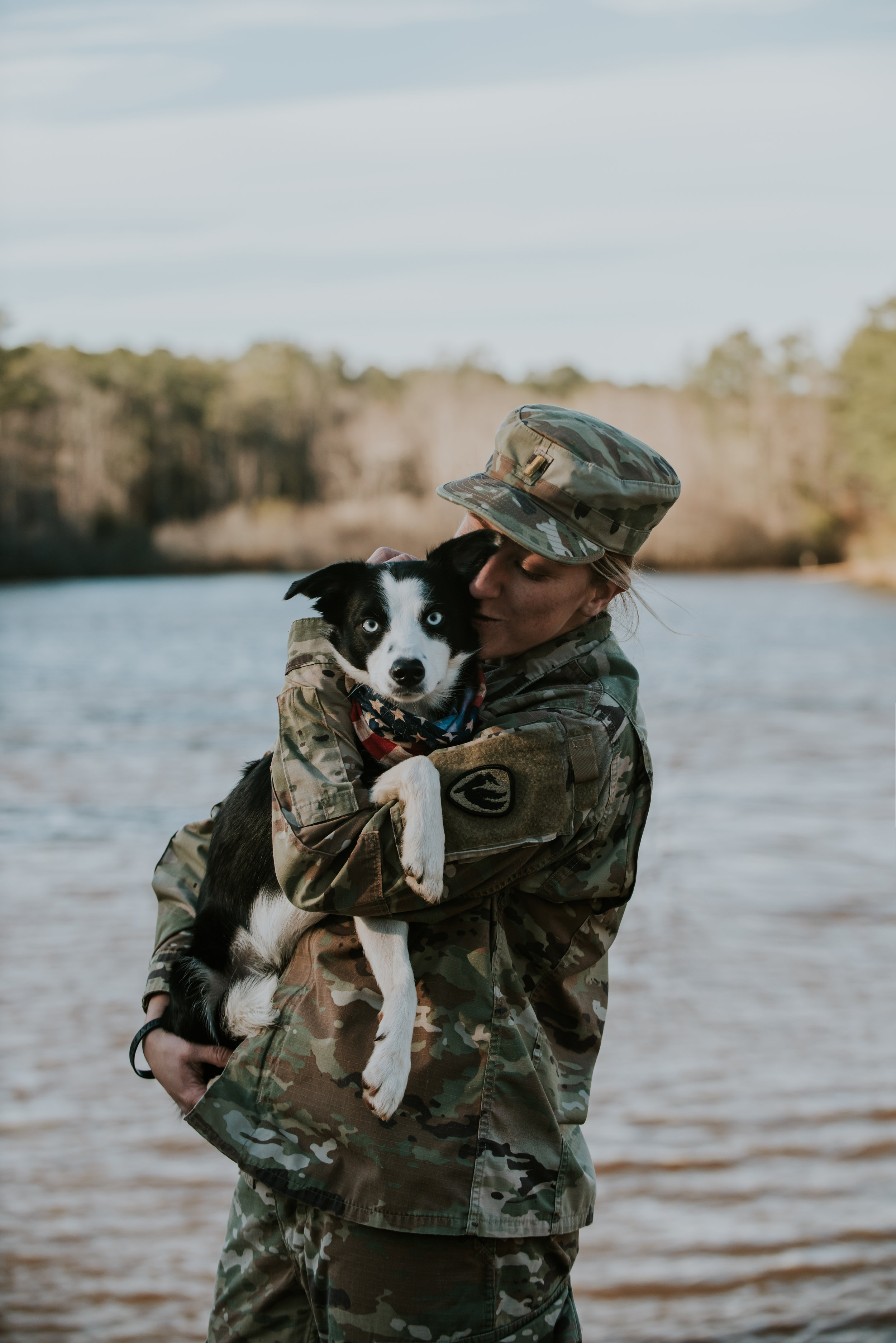 Soldier Dog Photography