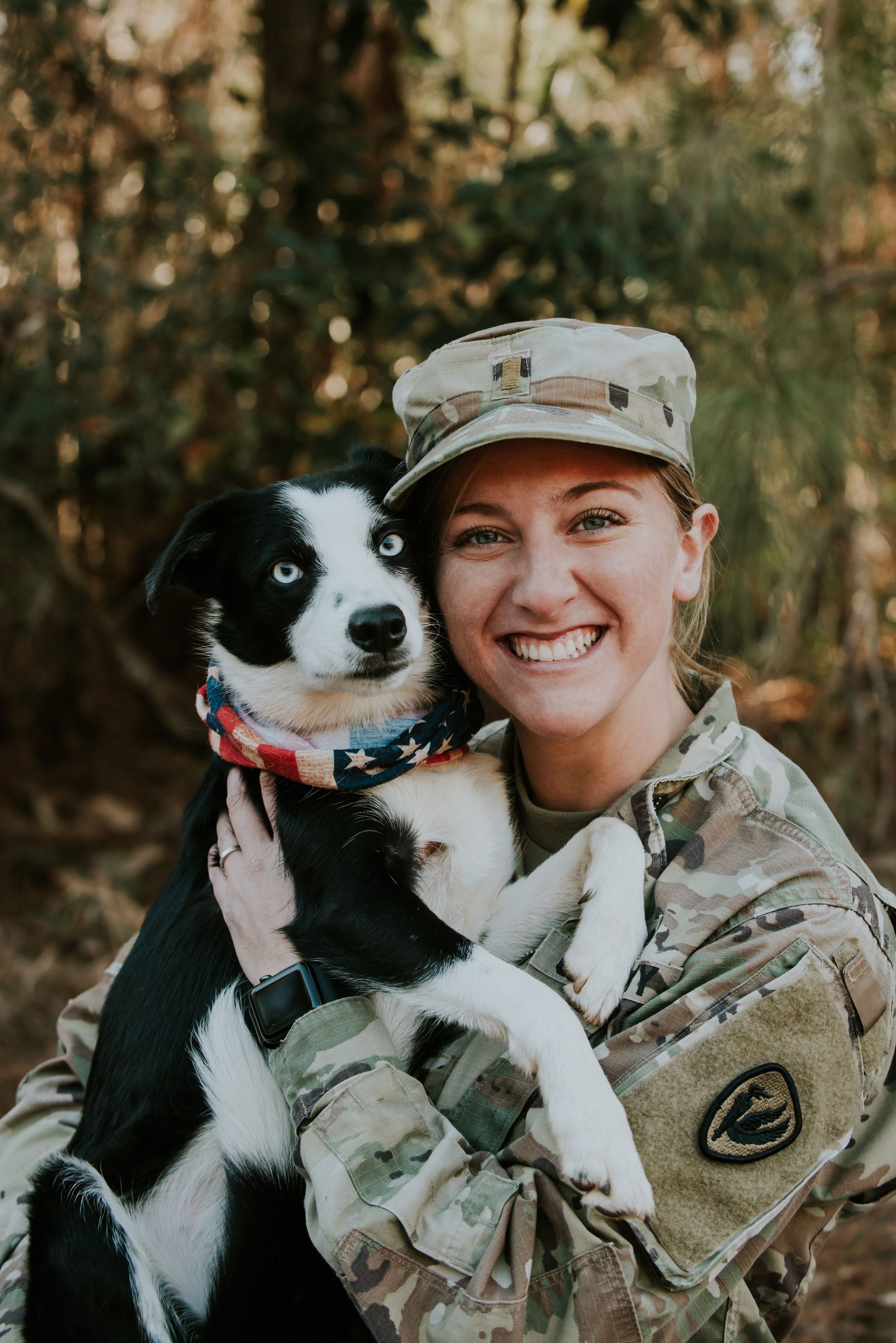 Soldier's Dog Photography