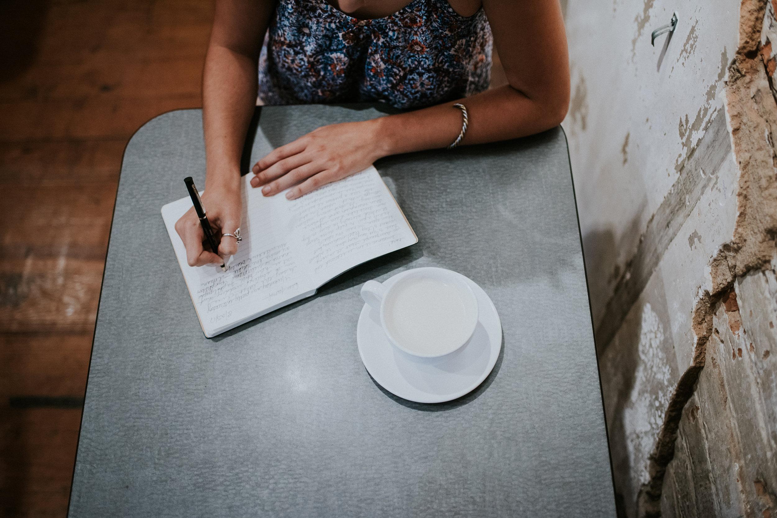 Cheyenne writes in her journal