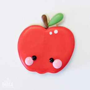 Maybe stick with cookies that LOOK like apples.
