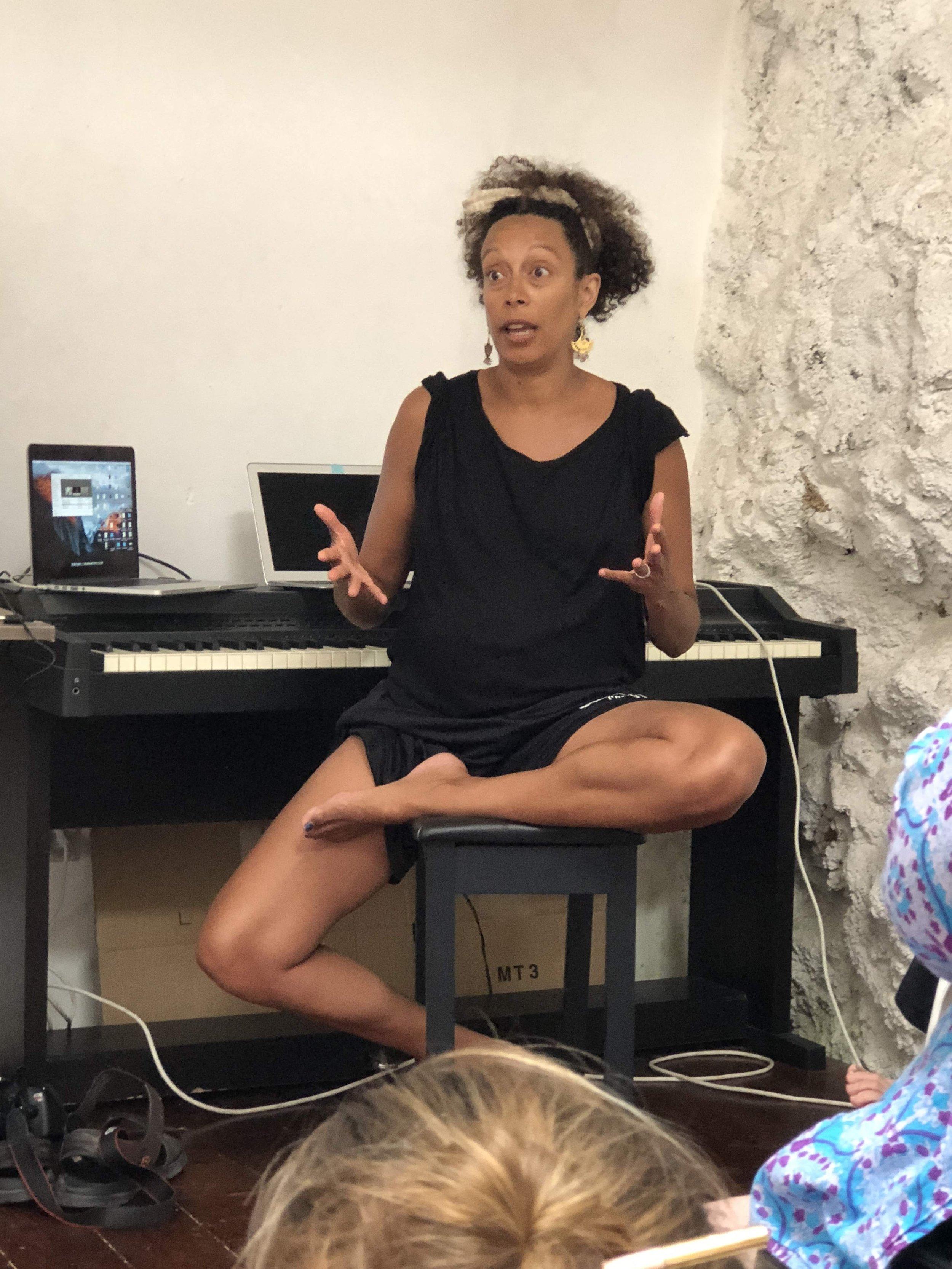 Dance theater maker Stefanie Batten Bland