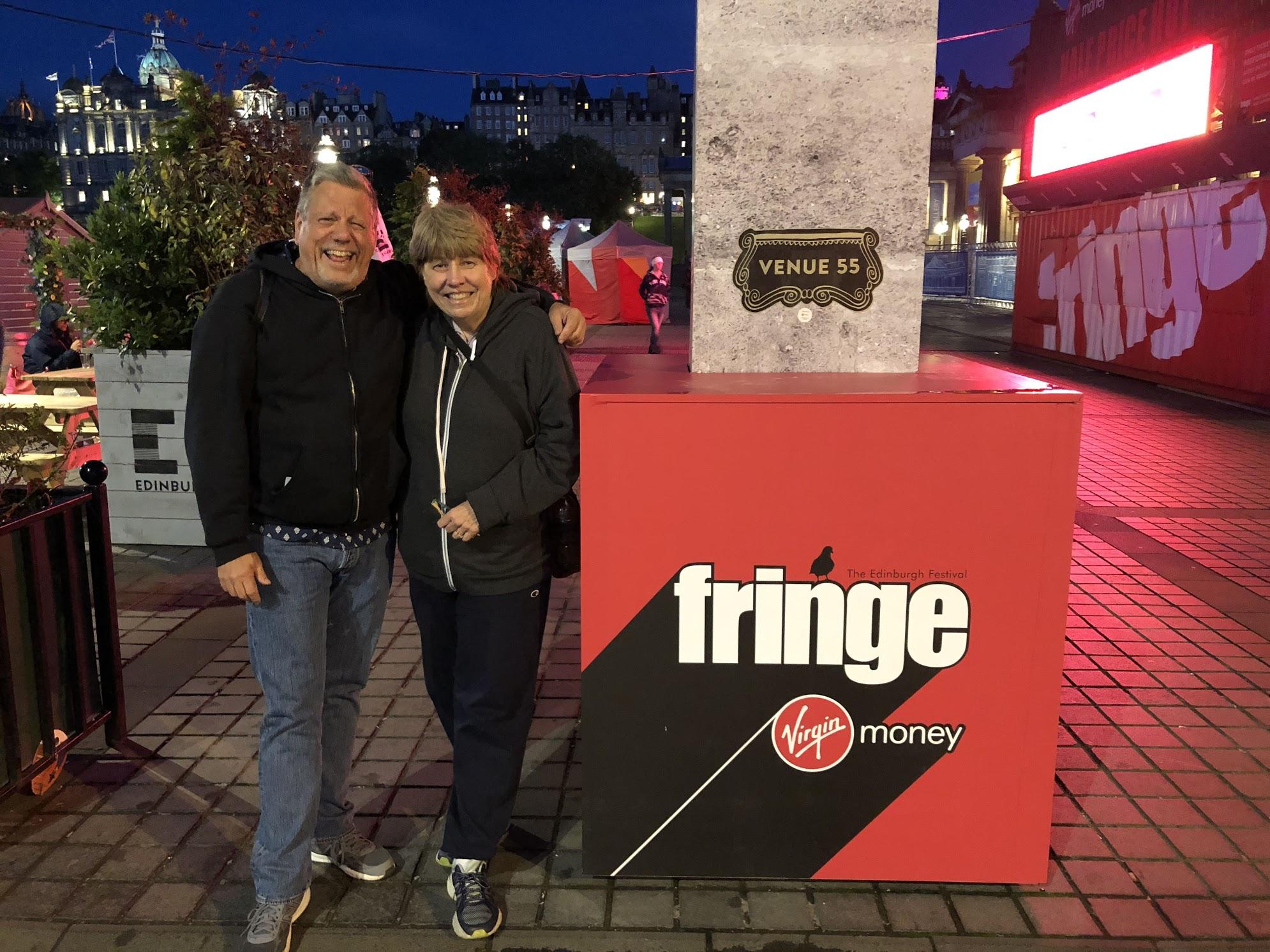 Kevin & his sister Maureen take on Fringe!