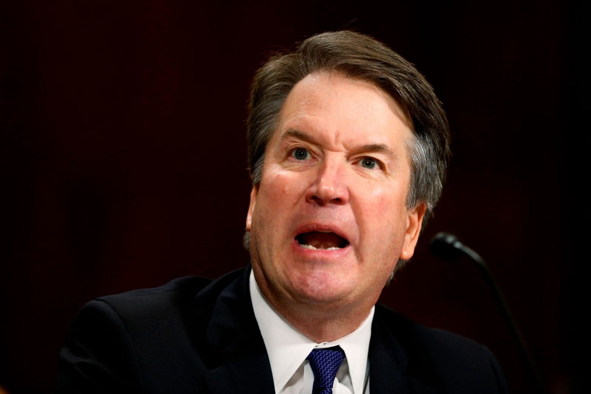 "Brett Kavanaugh;  There is ""a social tendency to see wealthy white boys' actions as innocently naughty, rather than dangerous."""