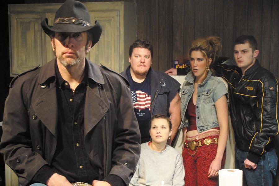The cast of Profiles' award-winning  Killer Joe