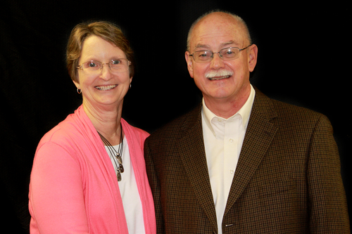 Pastor Tim North and his wife Carmen