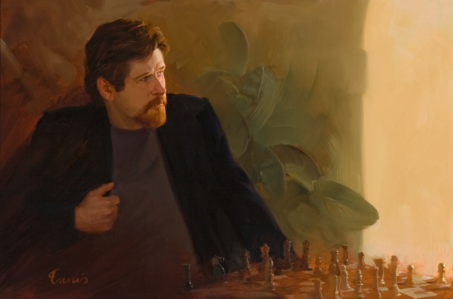 Artist at Chess