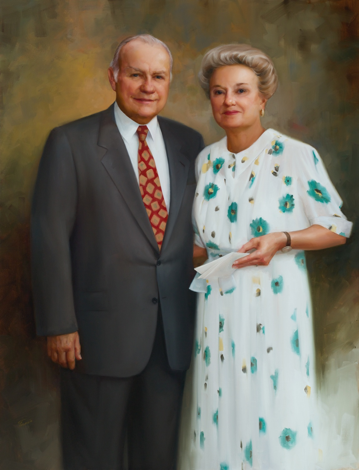 William and Joan Schreyer