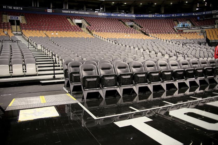 Quattro nose mount seating and Clarin VIP
