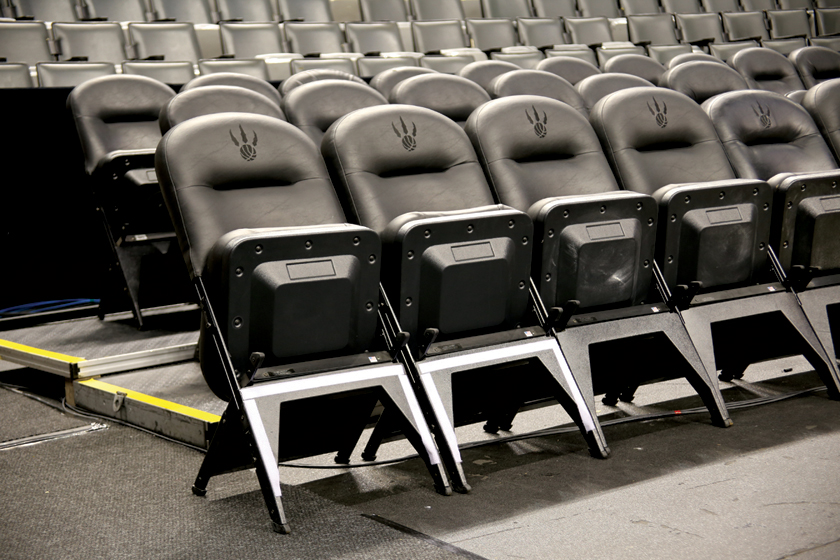 Clarin VIP seating at Air Canada