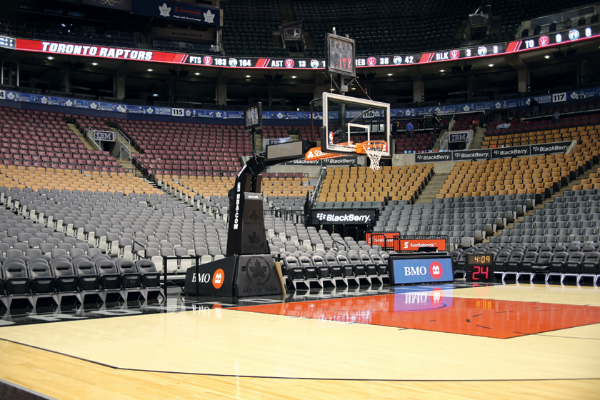 Floor view of Air Canada Centre