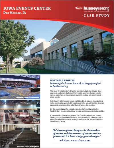 Iowa Convention Center Case Study