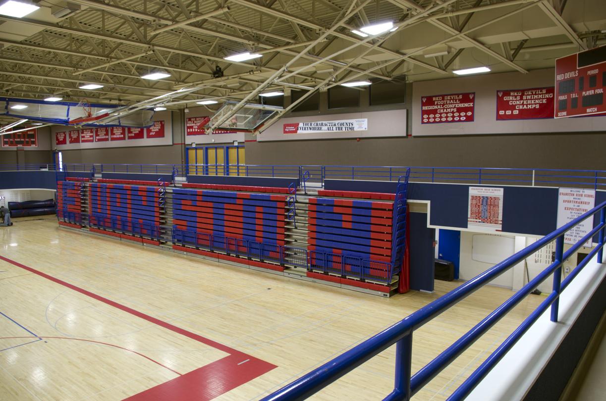 Evanston High School in Wyoming
