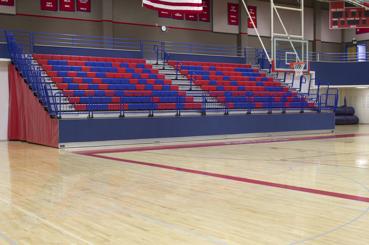 Courtside seats with FlexRow on Maxam system