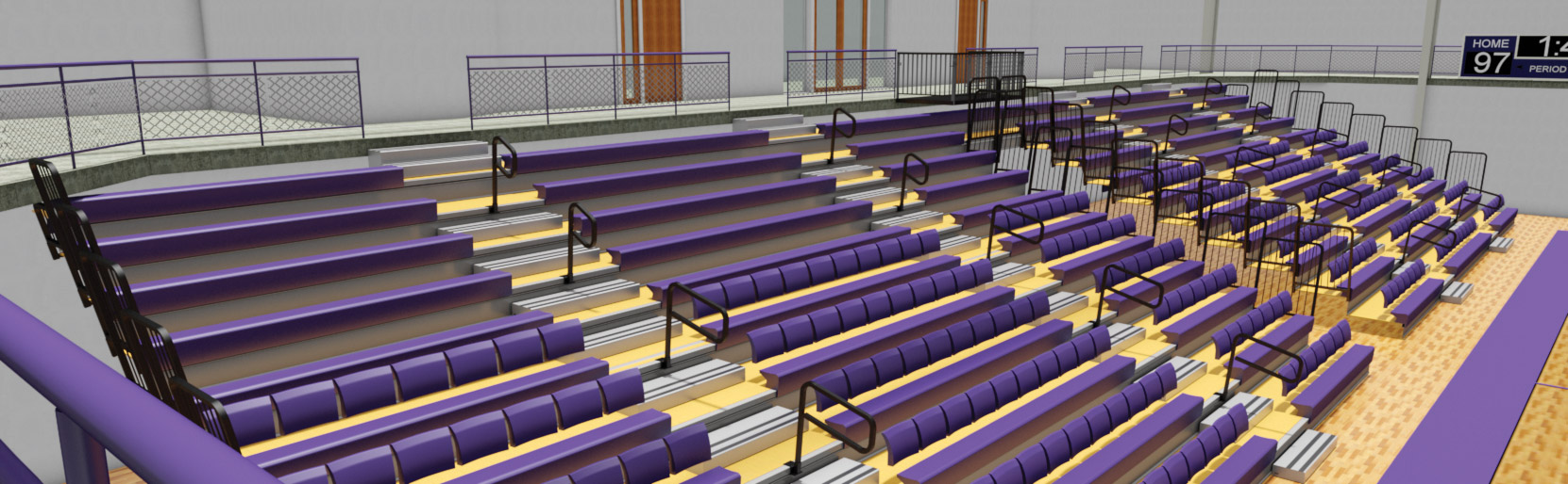 Revit — Hussey Seating Company
