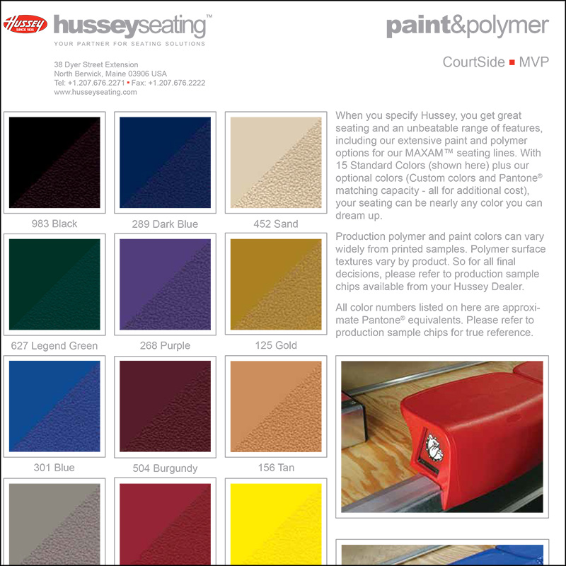 CourtSide Color Selector