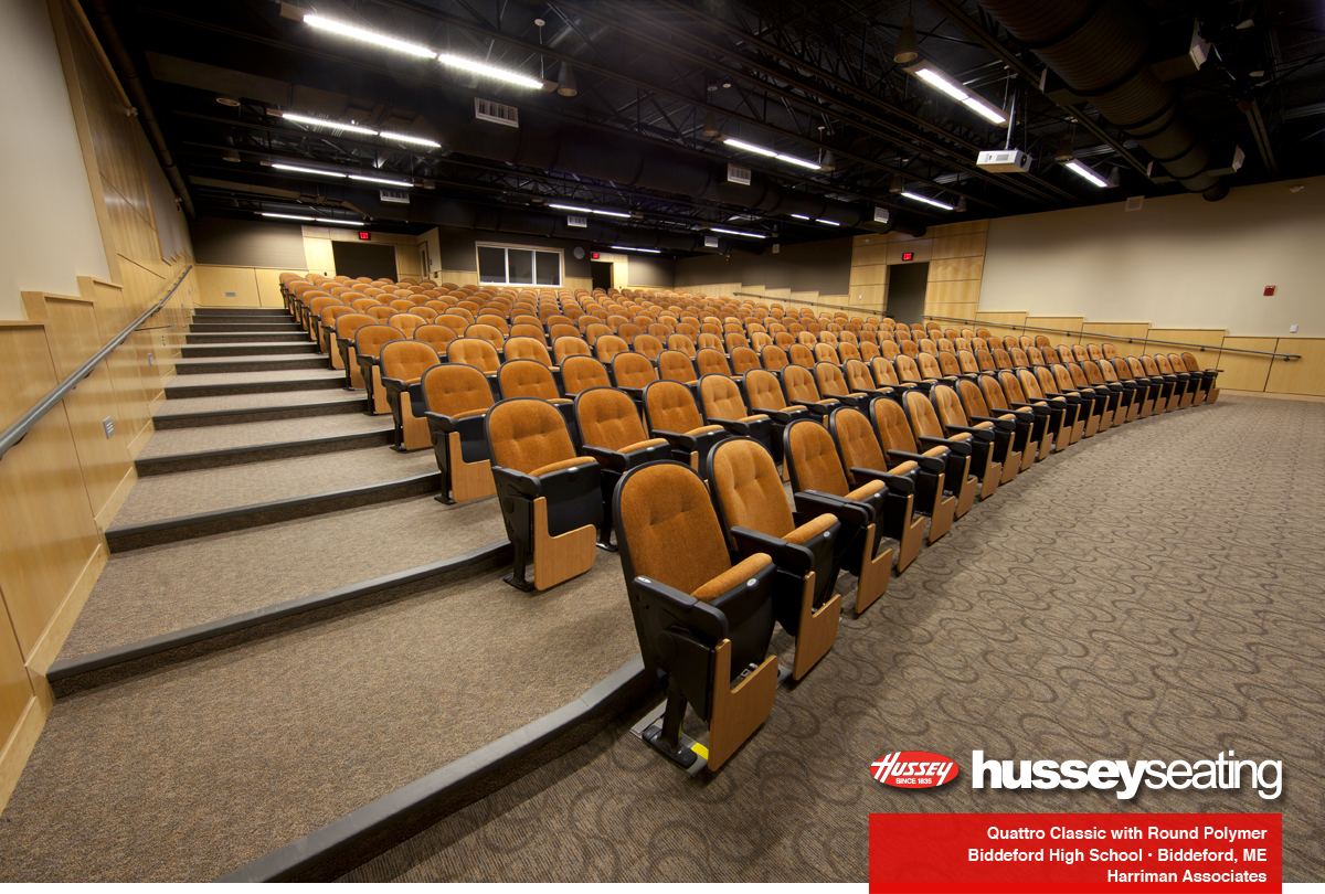 Biddeford High School Hussey Seating Company