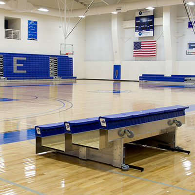 Tip-N-Roll Portable Bleachers