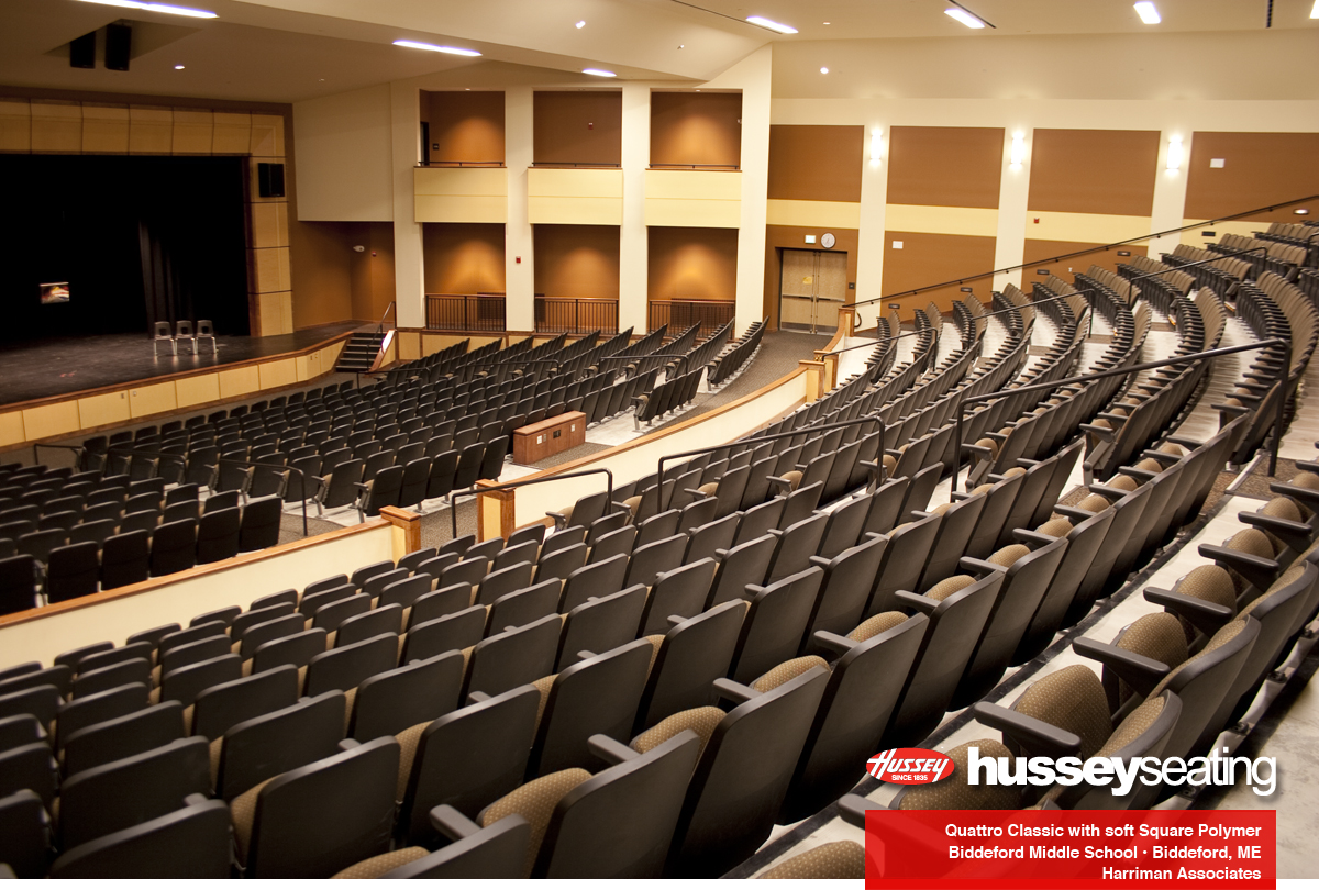 Biddeford Middle School Hussey Seating Company