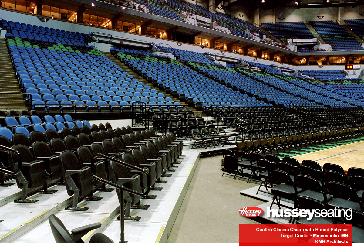 Target Center — Hussey Seating Company