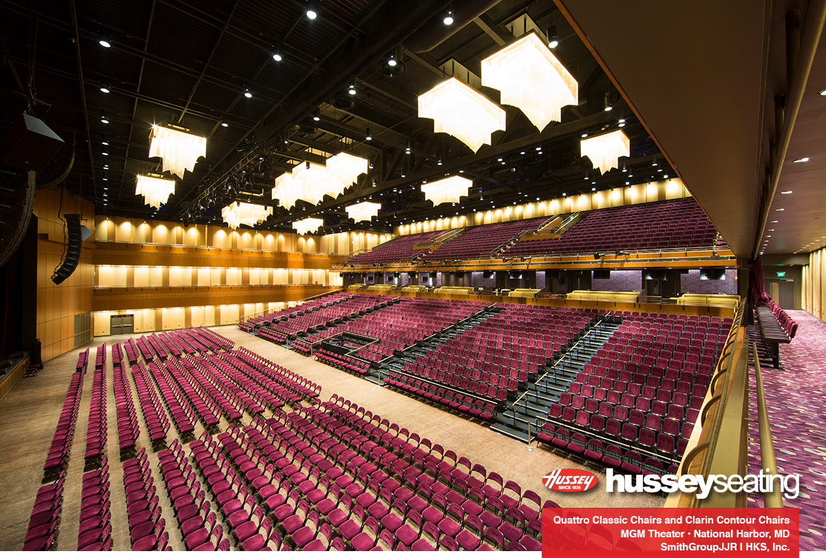 MGM National Harbor Theater — Hussey Seating Company