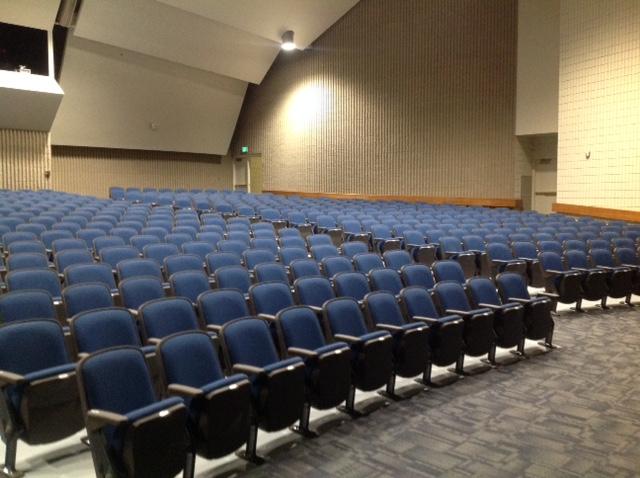 High School Auditorium in Utah