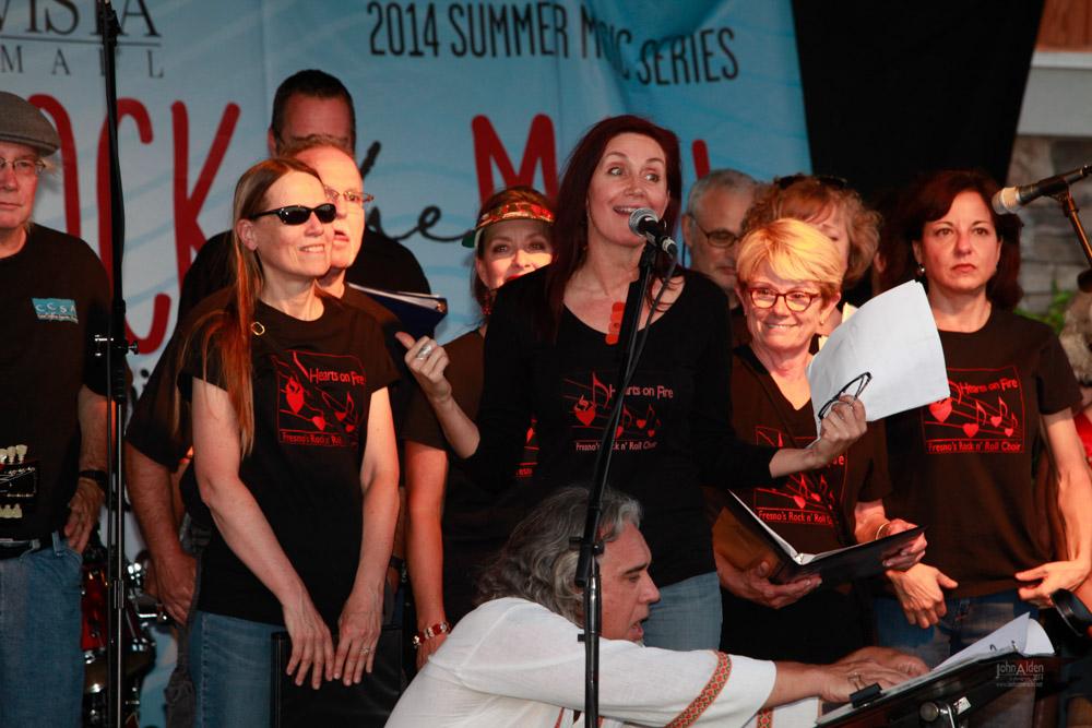 HOF performs at the Sierra Vista Mall